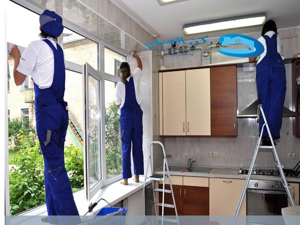 شركة تنظيف واجهات زجاج بالنبهانية