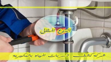 Photo of شركة كشف تسربات المياه بالبكيرية  920001963