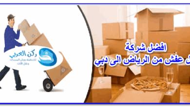 Photo of افضل شركة نقل عفش من الرياض الى دبي